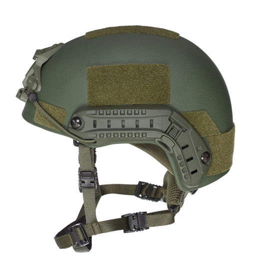 SF kogelwerende helm level IIIA - Olive 2