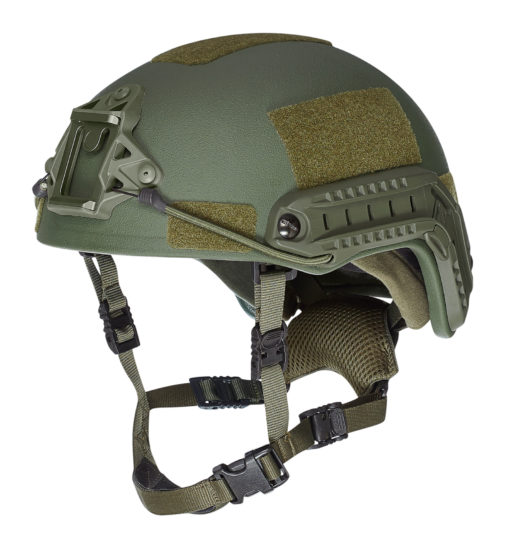 SF kogelwerende helm level IIIA - Olive