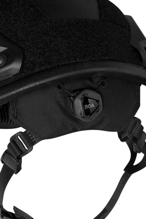 SF kogelwerende helm achterkant
