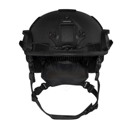 SF kogelwerende helm Zwart front