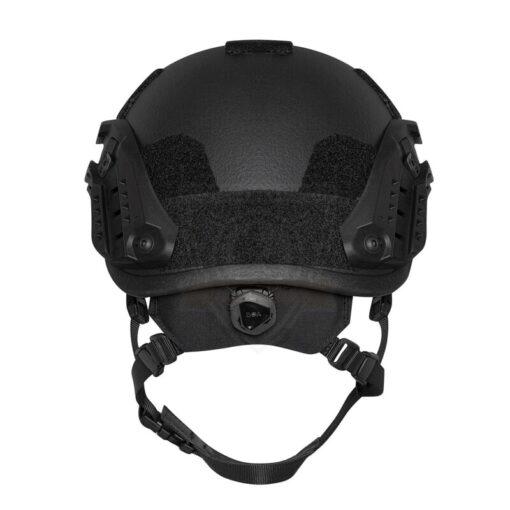 SF kogelwerende helm Zwart back