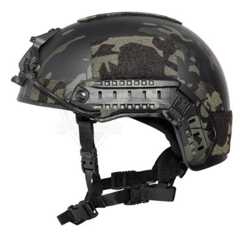 SF kogelwerende helm level IIIA - multicam black 2